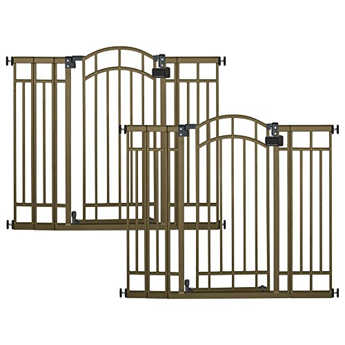 Summer Infant Extra Tall Decorative Walk-Thru Gate, 2 Gate Value Pack by Summer Infant