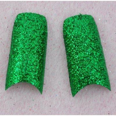 BF nuevas calcomanias brillantes puntas de uñas postizas de acrílico diseño maquillaje x 70pcs-ULTRA