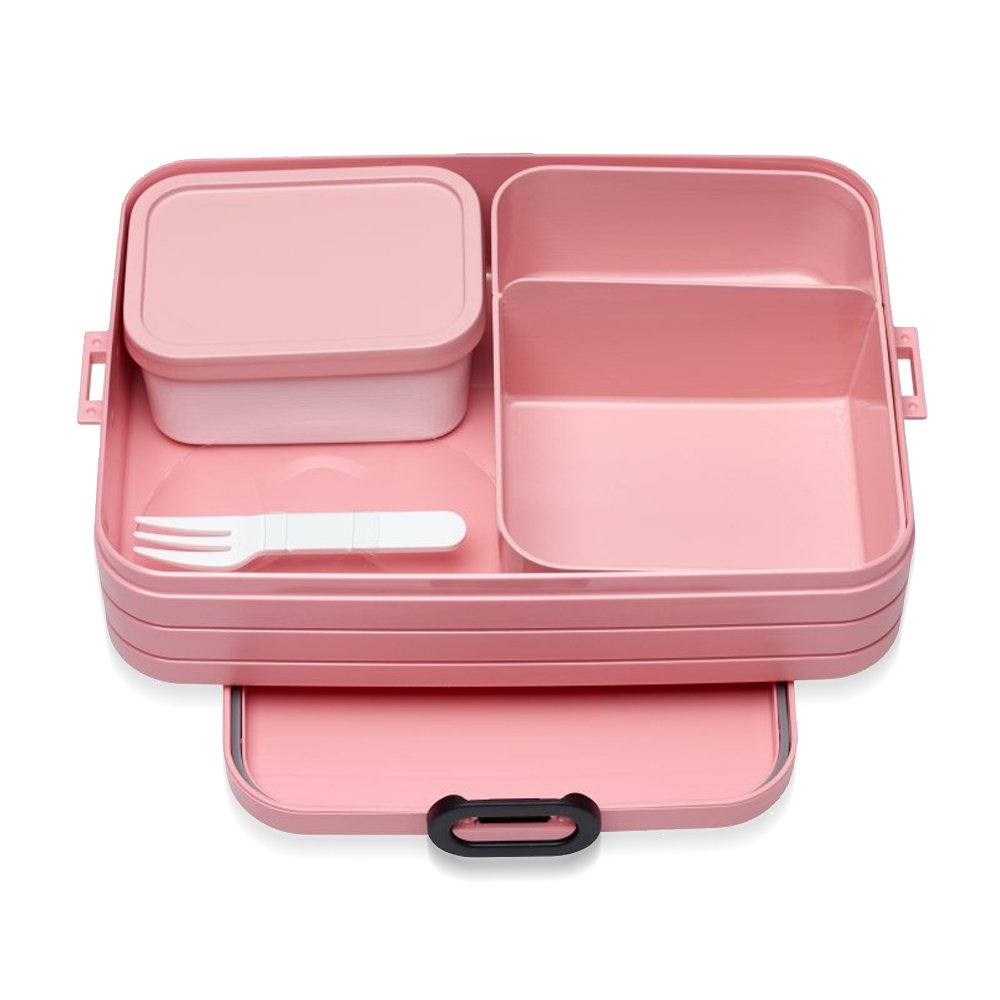 TPE//PP//ABS 0/mm MEPAL Bento Lunch Box Take A Break Large A weiay Blanco