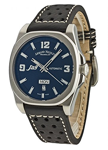 Armand Nicolet J09 Day&Date Automatic 9650A-BU-P660NR2