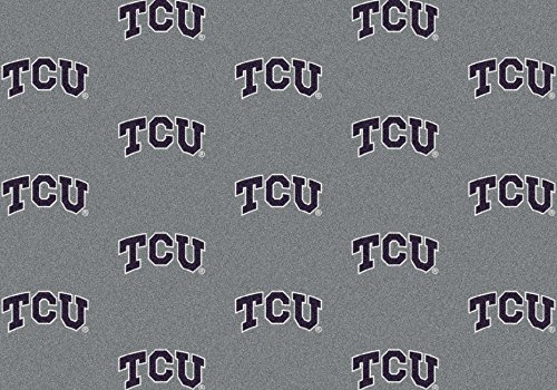NCAA Team Repeat Rug - Texas Christian Horned Frogs, 3'10'' x 5'4'' by Millilken