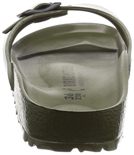 Birkenstock Madrid EVA Narrow Fit - Khaki 128253 (Green) Womens Sandals 38 EU by Birkenstock (Image #2)
