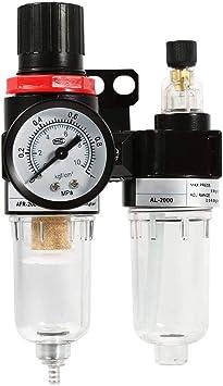 compresor del aer/ógrafo del filtro del compresor de aire de la trampa del separador de agua y aceite Regulador de presi/ón del filtro de aire