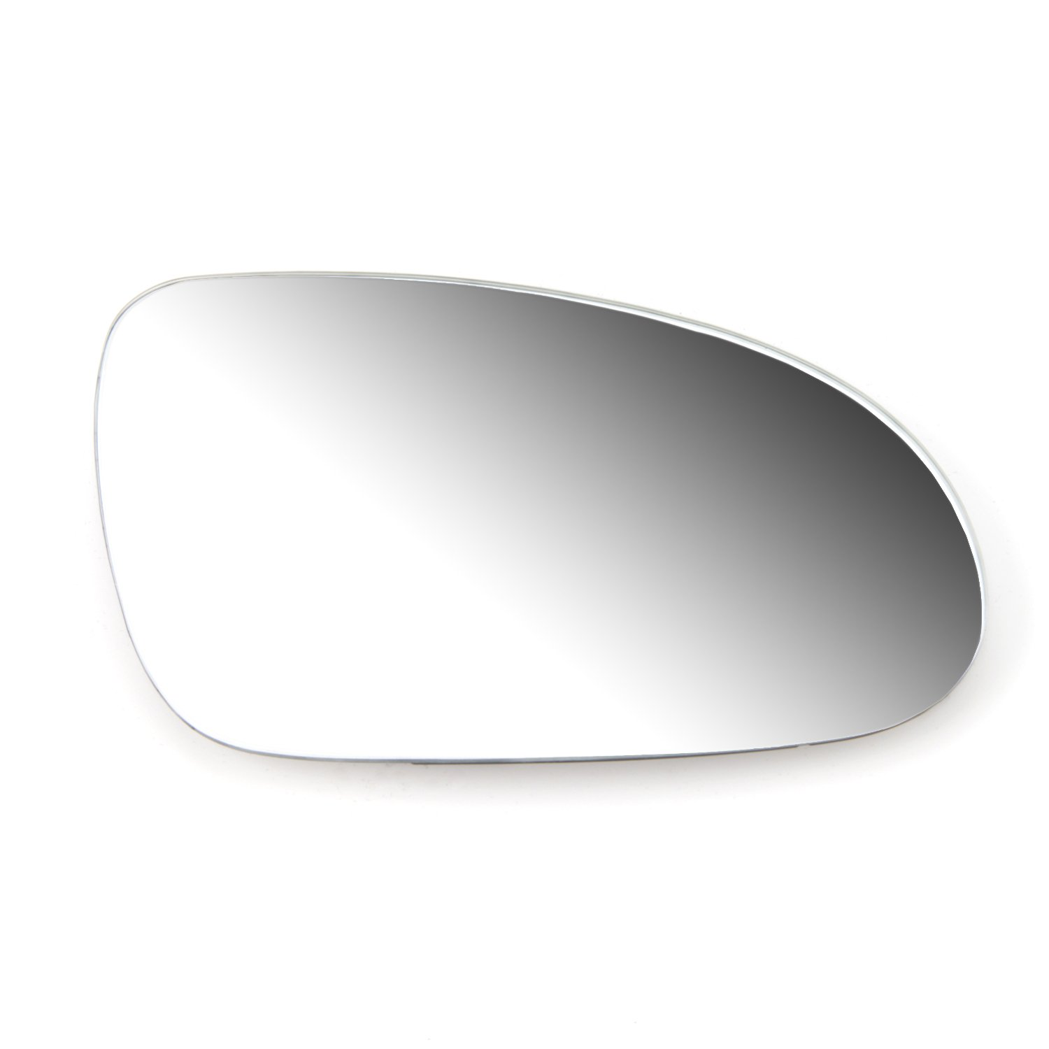 TAKPART Left Passenger Side Heated Electric Wing Mirror Glass