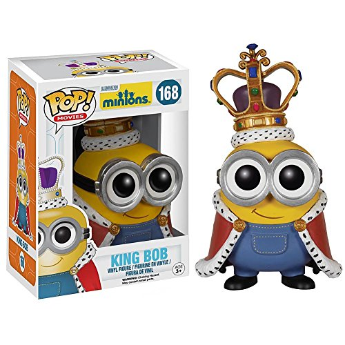 POP! MOVIES: MINIONS-KING MINION