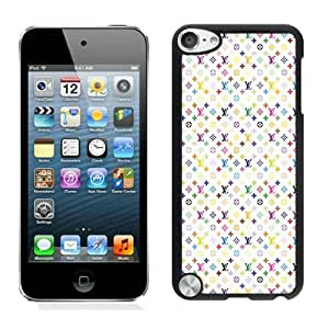 iPod Touch 5 Case,Louis Vuitton 05 Black iPod Touch 5 Screen Phone Case Art and Popular Design