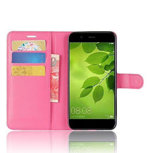 Manyip Funda Huawei nova 2 ,Caja del teléfono del cuero,Protector de Pantalla de Slim Case Estilo Billetera con Ranuras para Tarjetas, Soporte Plegable, Cierre Magnético(JFC6-5) G