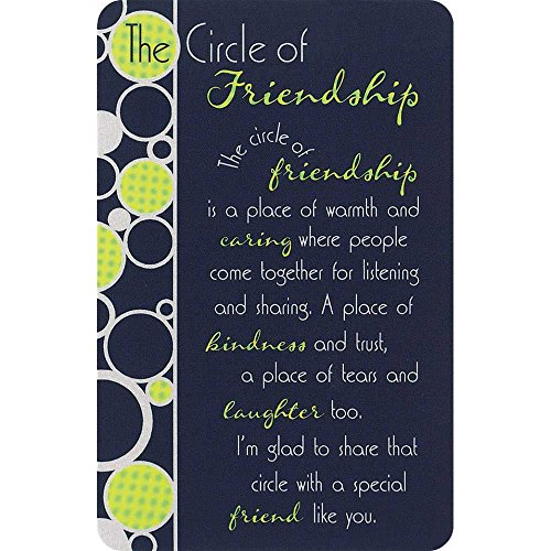 Pocket Card Bookmark Pack of 12 - Circle of - Bookmark Friendship