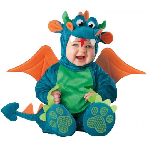[Dinky Dragon Costume - Infant Small] (Dinky Dragon Baby Costumes)