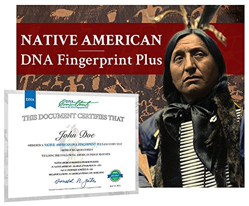 Native American DNA Fingerprint Plus Test by DNA Consultants