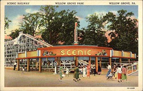 926c750dbf167 Amazon.com: Willow Grove Park - Scenic Railway Willow Grove, Pennsylvania  Original Vintage Postcard: Entertainment Collectibles