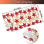 Outdoor Headband House Decor Collection Christmas Tree Decoration Themed Star Pattern Military Style Gold Red Sketch… 9
