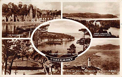 Tobermory Scotland Lighthouse and Scenic Views Real Photo Postcard JD933881 ()