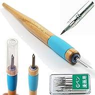 Tachikawa Comic Pen Nib Holder(T-40) + Zebra Comic G Model Chrome Pen 10 Nibs(PG-6C-C-K)