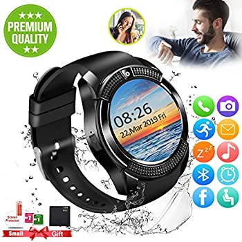 Amazon.com: Smart Watch,Bluetooth SmartWatch with Camera ...