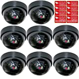 VideoSecu 8 Dummy Fake CCTV Dome Security Cameras - Best Reviews Guide