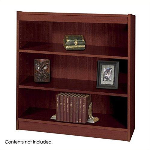 Safco Products 1502MHC Square-Edge Bookcase, 3 Shelf, (Safco 3 Shelf)