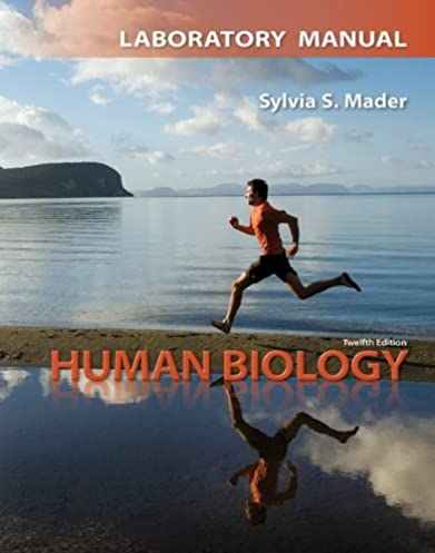 amazon com lab manual for human biology 9780077348625 sylvia rh amazon com