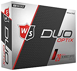 Wilson Staff Duo Soft Optix - Red