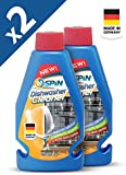 SPIN Dishwasher Machine Cleaner - Made in Germany, Bundle of 2 Bottles (2 x 250ml)