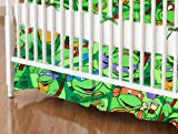 SheetWorld - Crib Skirt (28 x 52) - Ninja Turtles - Made In USA