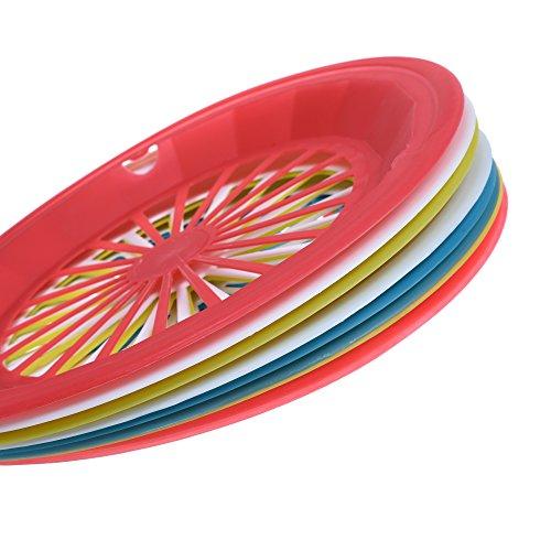 COSMOS Reusable Plastic Holders Plates