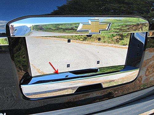 (QAA FITS Escalade 2015-2019 Cadillac & Suburban/Tahoe 2015-2019 Chevrolet & Yukon 2015-2019 GMC (1 Pc: ABS Plastic Lower Tailgate gate Handle Cover, 4-Door, SUV) DH55196 )