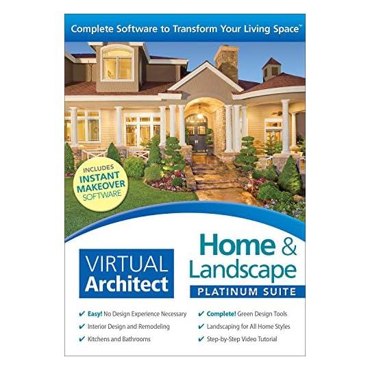 Virtual Architect Home & Landscape Platinum Suite 9.0 [PC Download]