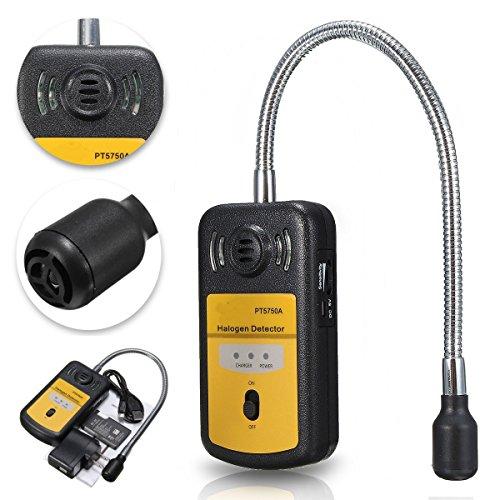 PT5750A Refrigerant Halogen Detector Leak R134a R410a R22 Air Condition HCFC CFC Checker by SPK603