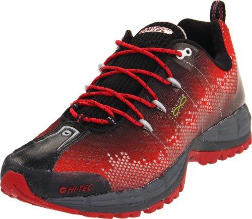 Hi-Tec Men's V-Lite Infinity Hpi Shoe,Red/Black/Silver,10 M US