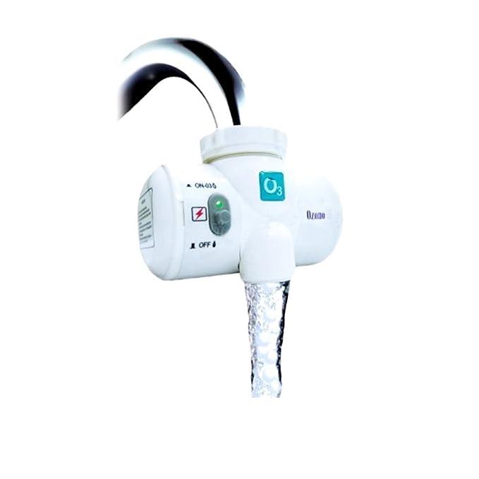 Deluxe Generador de Ozono para Grifo con Filtro | Limpia y desinfecta Ozono Grifo |: Amazon.es: Hogar