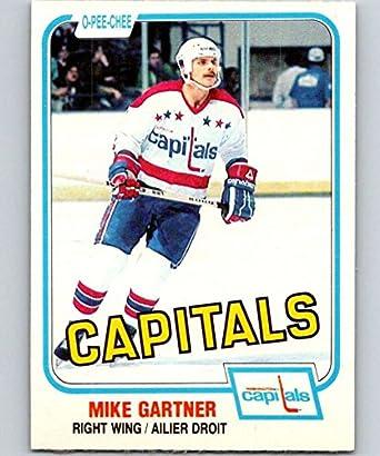 Amazon.com  1981-82 O-Pee-Chee  347 Mike Gartner Capitals 6640 ... 68cf26396