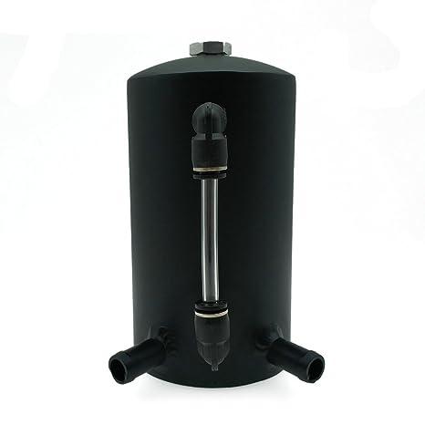 heinmo Universal 500 ml depósito de aceite Catch Can tanque depósito de aluminio 13 mm