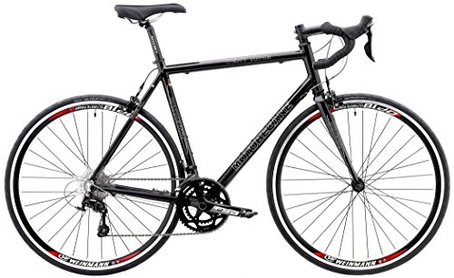 Shimano 105 Road Bike 2017 Motobecane Vent Noir Bicycles with Aluminum Frames, Carbon Forks 22 Speed, New Shimano 105 5800 700c Road Bicycles