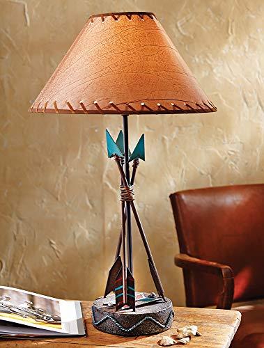 BLACK FOREST DECOR Southwest Arrow Table Lamp