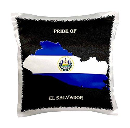 3dRose pc_210451_1 Flag Salvador Pillow