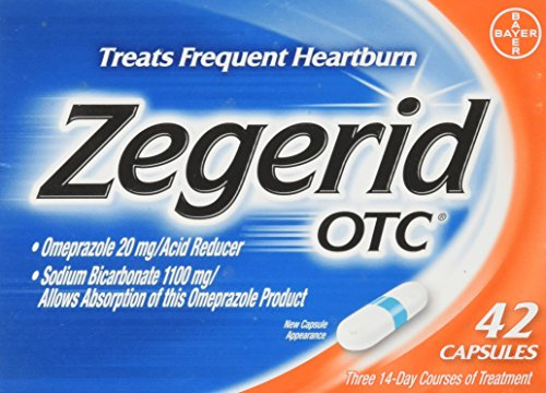 ZEGERID OTC CAPS 42 (2 Boxes) by Zegerid