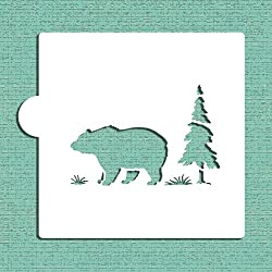 Bear Cookie & Craft Stencil Cm055 By Designer Stencils