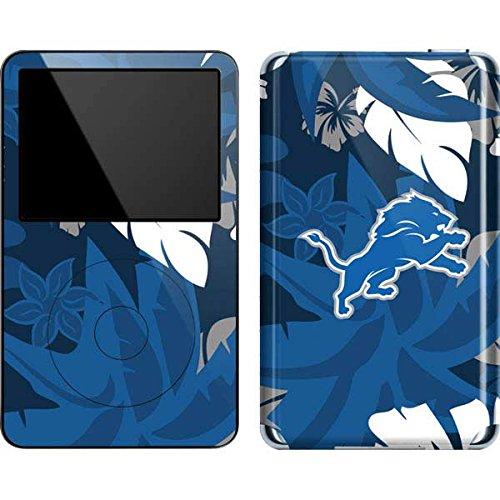 NFL Detroit Lions iPod 5G (30GB) Skin - Detroit Lions Tropical Print (Lions Detroit 5 Case Ipod)