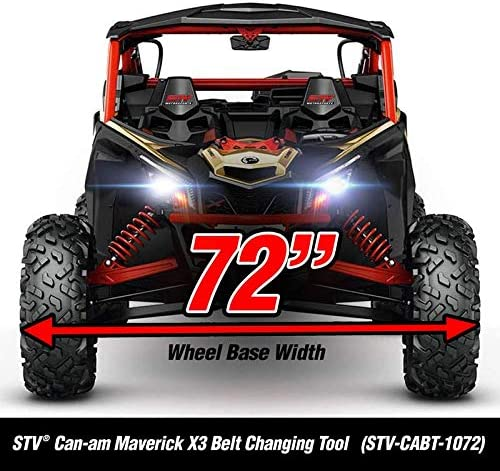 Made in The USA STVMotorsports Can-Am Maverick X3 Belt Changing Tool 64-inch Wheel Base Width