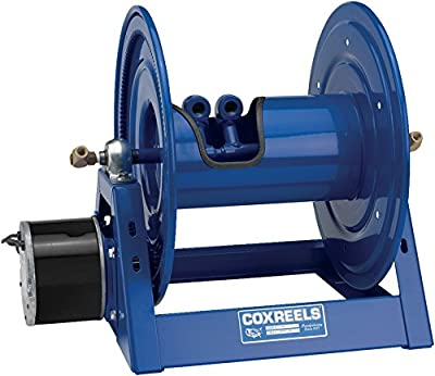 Coxreels 1275-4-50-A Dual Hose Compressed Air #4 Gast Motor Rewind