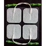 Prospera Pl009-p Electronis Pulse Massager Pads, White