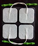 Prospera Pl009-p Electronis Pulse Massager Pads, White