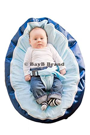 sc 1 st  Amazon.com & Amazon.com: BayB Brand Baby Bean Bag Filled Blue: Baby