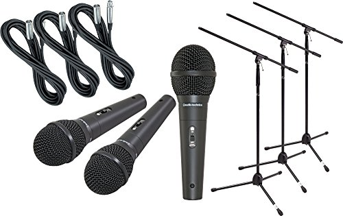 Audio Technica M4000S 3 Pack Mic Stand