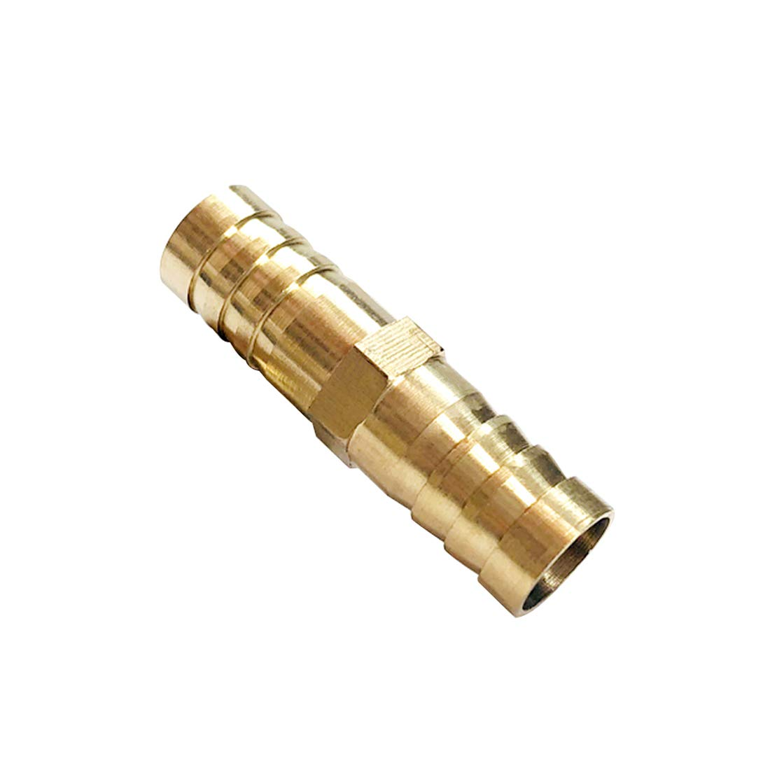 Pack of 5 LTWFITTING Brass Barb Hose Reducing Splicer Mender 1//2 ID Hose x5//8 ID Hose Fitting Air Water Fuel Boat