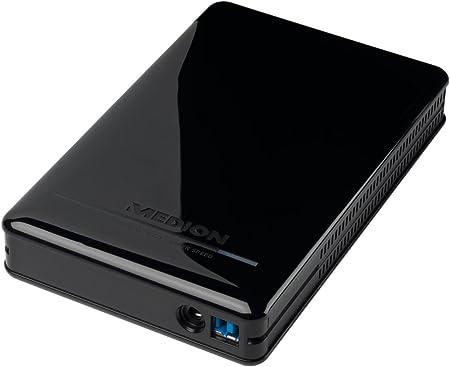 Medion Md 90179 Externe Festplatte 3tb 3 5 Zoll Schwarz Amazon De Computer Zubehör