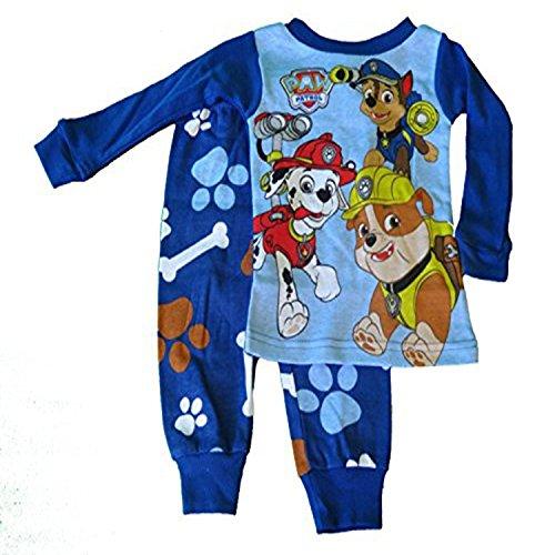 Paw Patrol 2 Piece Blue Pajama Set