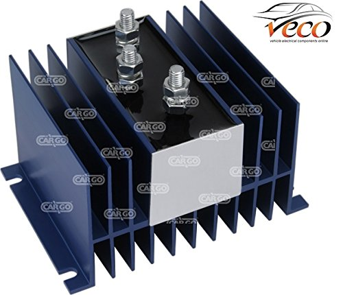 MULTI BATTERY DRAIN ISOLATOR SHUT OFF BOAT CAMPERVAN 6-36 VOLT 70 AMPS 160342 HC CARGO