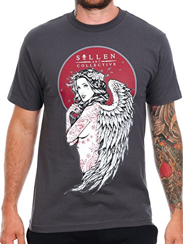 Sullen T-Shirt Lady of Ink Dark Grau
